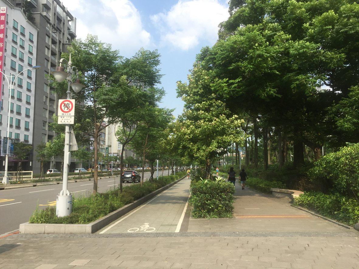 人行道行步行16