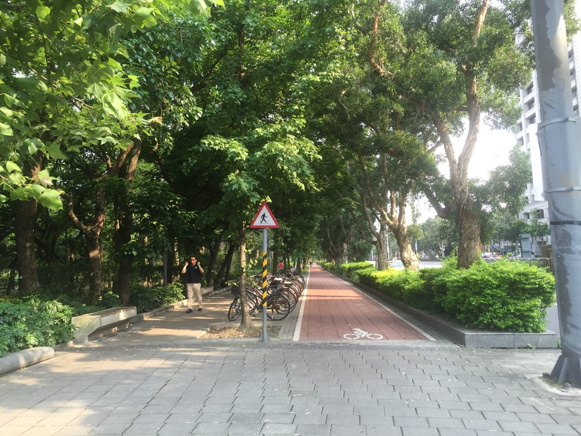 人行道行步行17