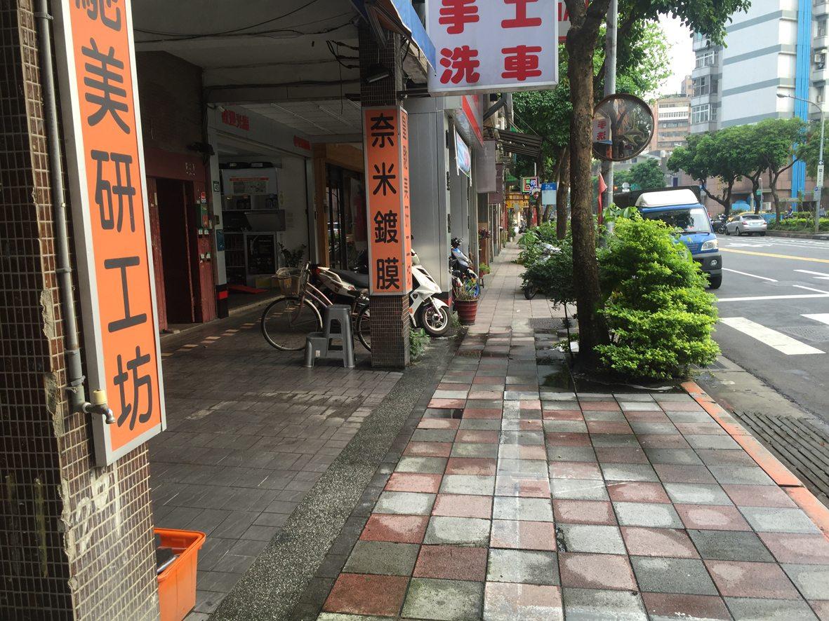 人行道行步行33