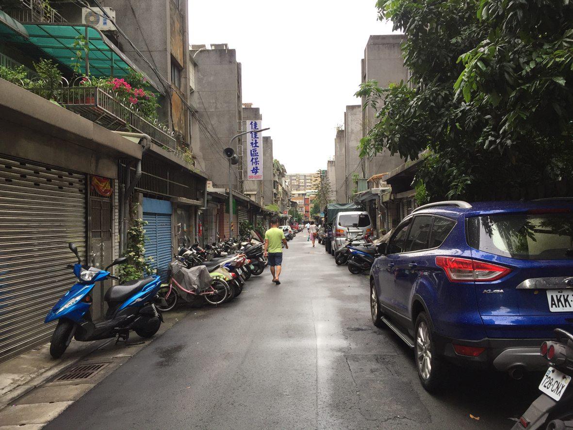 人行道行步行38