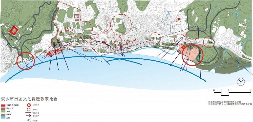 04-淡水區域保存之文化資產敏感地圖
