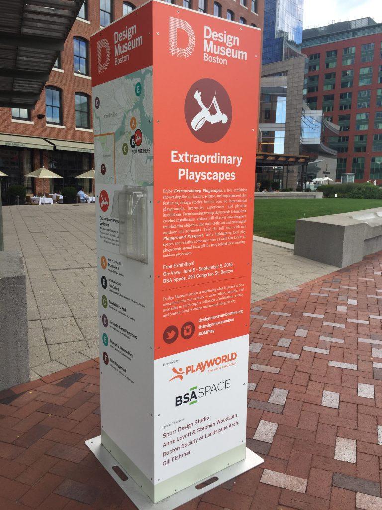 波士頓 Design Museum 針對遊戲場活動的規劃